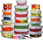 <p>Meal prep like a pro with this set of <span>24 Pack Airtight Food Storage Container Set</span> ($35). It's durable, leak-proof and even comes with labels, markers and a spoon set perfect for keeping your refrigerator organized. </p>