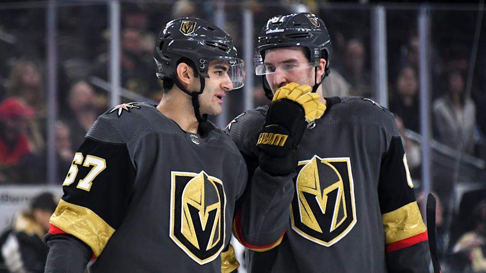 Max Pacioretty and Mark Stone's return to the lineup could  lead the Vegas Golden Knights to their first Stanley Cup victory in franchise history. (Ethan Miller/Getty Images)