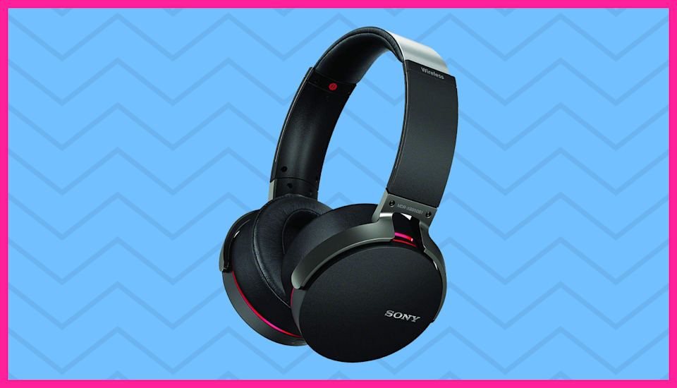 Save an impressive $103 on these Sony wireless headphones. (Photo: Sony)