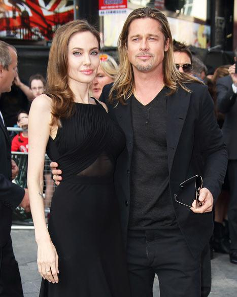 Angelina Jolie Stuns on First Post-Mastectomy Red Carpet at Brad Pitt's World War Z Premiere: Picture