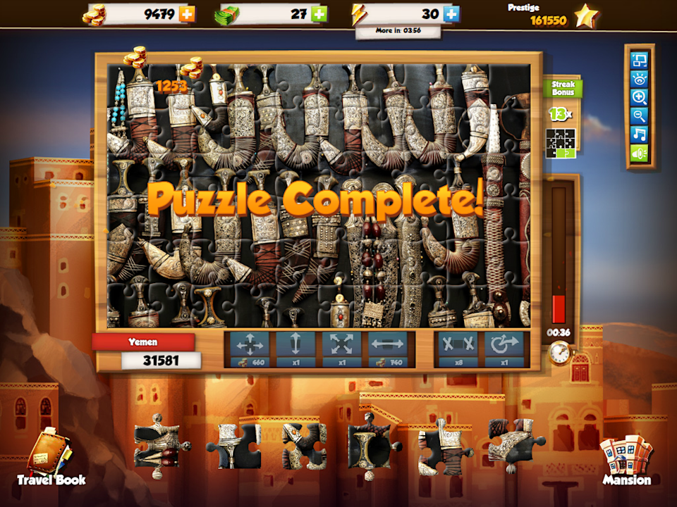Puzzle Chasers screens