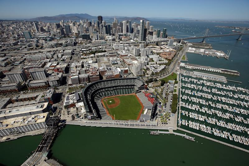 Oracle Park new name San Francisco Giants stadium replacing AT&T
