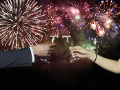 NYE is set to be a big one for 28 per cent of us who say it's their favourite day for sex, followed closely by Christmas Eve at 25 per cent. Photo: Getty.