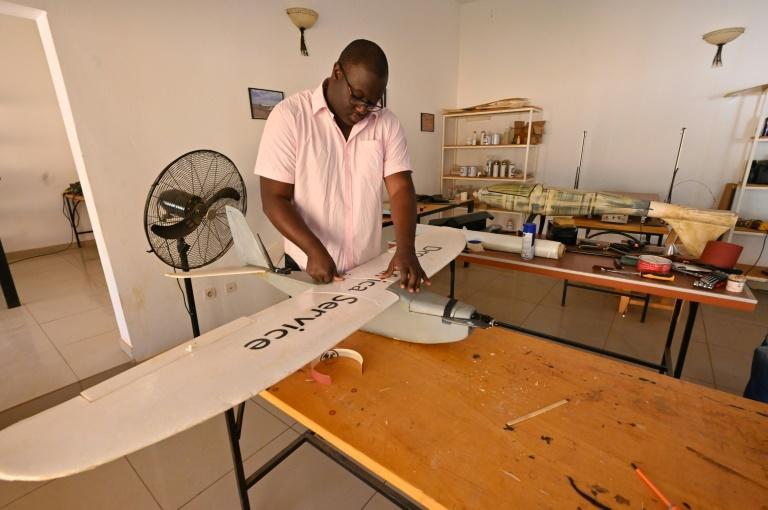 In a poor country where overland access is often difficult, Kountche is considering using drones to deliver Covid vaccines