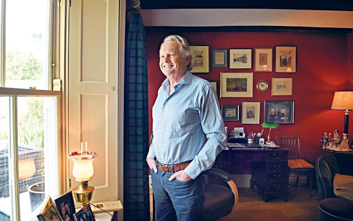 Michael Dobbs: 'I discover that none of this treatment truly hurts' - Jay Williams for The Telegraph
