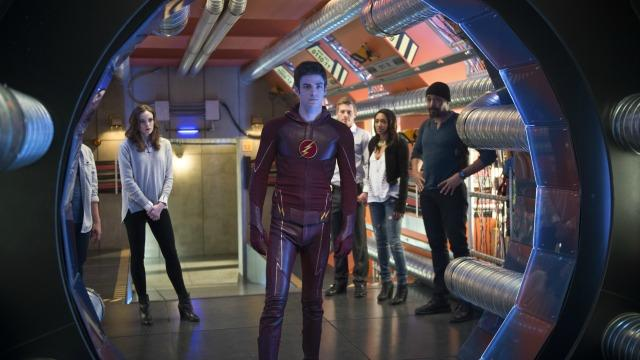 """<em>The Flash</em> sure isn't slowing down for season two. The CW's breakout hit is bringing two new characters, Jay Garrick and Patty Spivot, to the series – and Hall H was buzzing! Jay Garrick, whom comic book fans know as the first DC Comics character to take on the mantle as The Flash, will be played by  <em>Masters of Sex</em> star <strong> Teddy Sears</strong>. The character's introduction into the universe had been hinted at during the action-packed season finale, when viewers saw his signature gold helmet. In  <em>The Flash</em>, Jay is described as a mysterious figure who arrives in Central City to warn Barry Allen ( <strong>Grant Gustin</strong>) and his team at S.T.A.R. Labs of an impending danger that he alone cannot hope to stop. On a related note,  <em>another </em>Speedster will also be coming to town: Wally West!  <strong>TV: 'The Flash' Finale Shocker: Who Made the Ultimate Sacrifice - But There's a Twist!</strong>    DC   Patty Spivot, a police officer and science enthusiast, will be played by  <em>One Tree Hill's</em>  <strong>Shantel Van Santen</strong> and her presence will """"complicate Barry Allen's love life in season two,"""" executive producer  <strong>Andrew Kreisberg </strong>said. Patty, who is obsessed with metahumans, catches the eye of Barry Allen and becomes Detective Joe West's new partner -- only she has no clue that her crush is actually The Fastest Man Alive.    DC    <strong>COMIC-CON: 'Suicide Squad' Cast Makes Surprise Appearance During 'Batman v Superman' Panel</strong> When the sophomore season picks up, there will be a new """"big bad"""" wreaking havoc on Starling City: Zoom. DC die-hards will recognize this name from comics baddie Professor Zoom, who is another version of the Reverse Flash, a.k.a. Eobard Thawne ( <strong>Tom Cavanagh</strong>), in  <em>The Flash </em>comic universe. You can watch the reveal below.    <strong>What do you think of the new season two developments on <em>The Flash</em>? Tell us your thoughts by tweeting"""