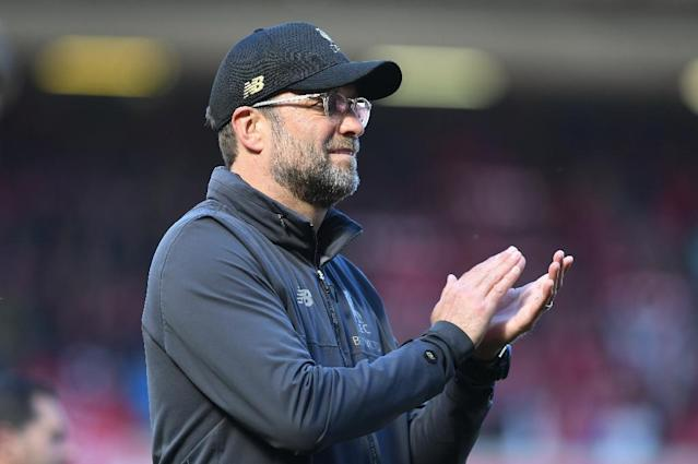 Jurgen Klopp has set his sights on Champions League glory after Liverpool's failed Premier League title bid (AFP Photo/Paul ELLIS)