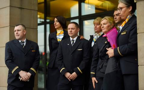 Thomas Cook staff - Credit: Peter Summers/Getty