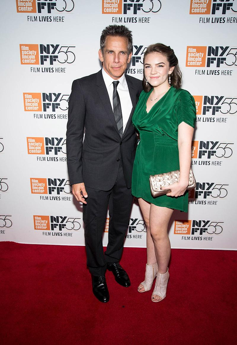 Ben Stiller and Ella Olivia