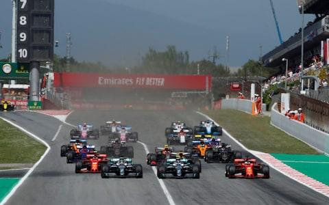 Formula One F1 - Spanish Grand Prix - Circuit de Barcelona-Catalunya, Barcelona, Spain - May 12, 2019 The start of the race - Credit: Reuters