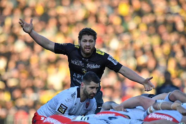 Rene Ranger is leaving La Rochelle to return to New Zealand (AFP Photo/XAVIER LEOTY)