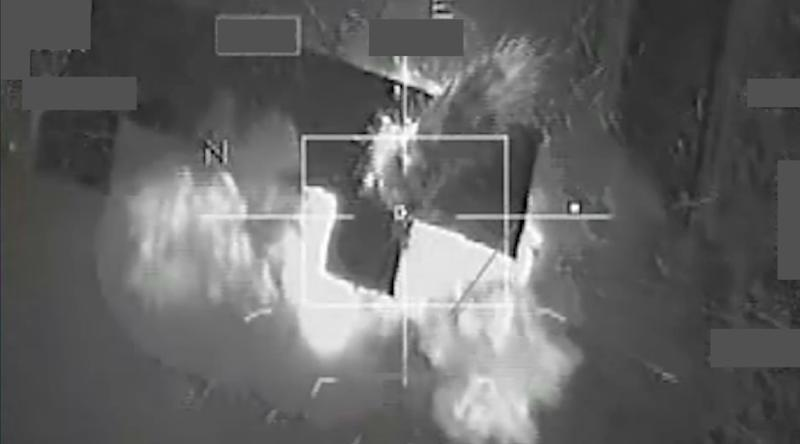 French warplanes bombing operational sites at the Islamic State's Syria stronghold in Raqa in November (AFP Photo/)