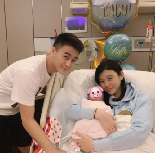 Ming and Mario welcomed their first child in October 2019