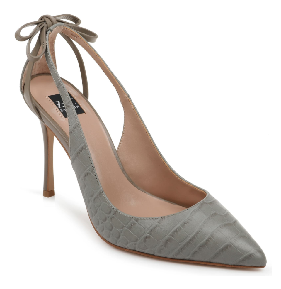 ZAC Zac Posen Veronique Pointed Toe Pump in Portobello Leather