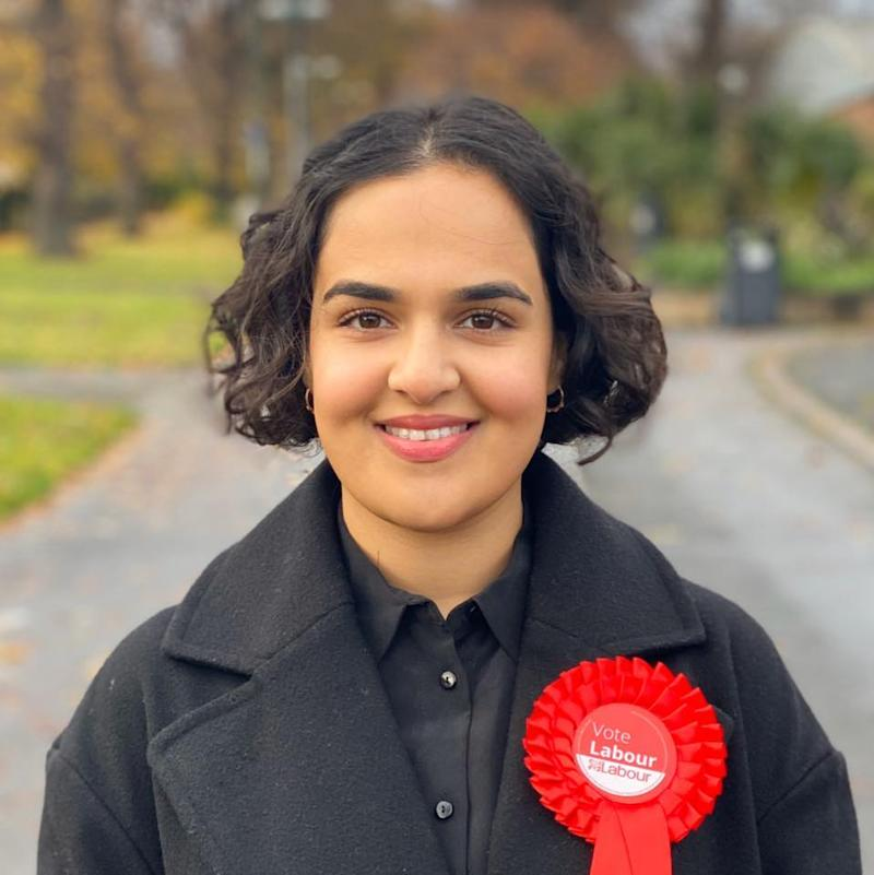 Nadia Whittome, 23, is the youngest MP (Picture: Facebook)