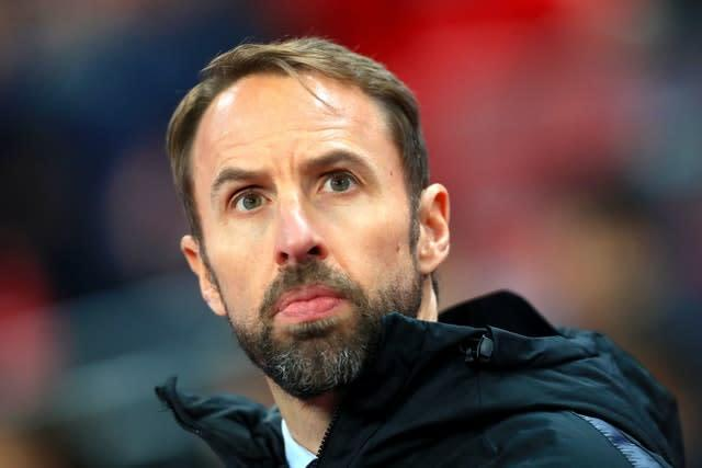 Gareth Southgate wants football's authorities to lead on racism in the game (Mike Egerton/PA)
