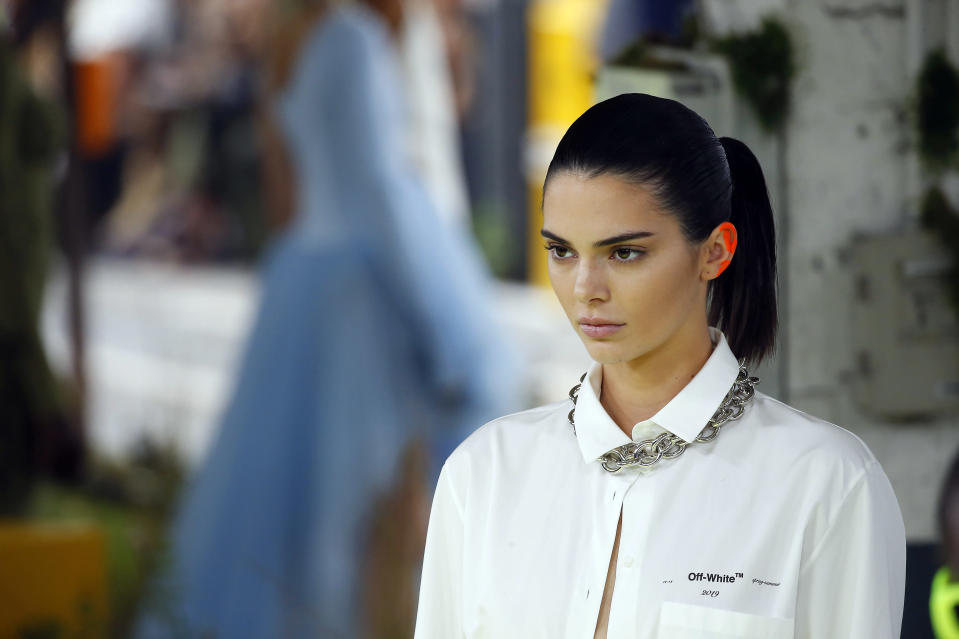 Vogue has apologised over a photoshoot with Kendall Jenner which saw the model's hair styled into an afro [Photo: Getty]