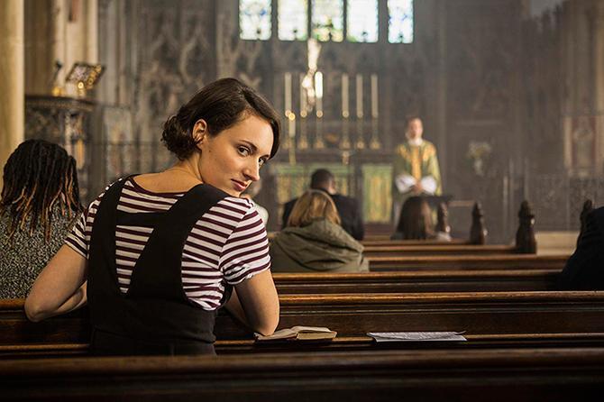 Phoebe Waller-Bridge en Fleabag (© BBC)
