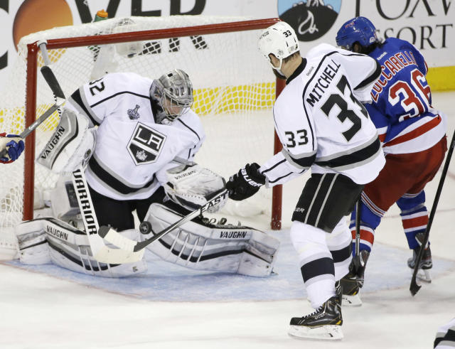 Experience has taught LA Kings importance of closing out Rangers in Game 4