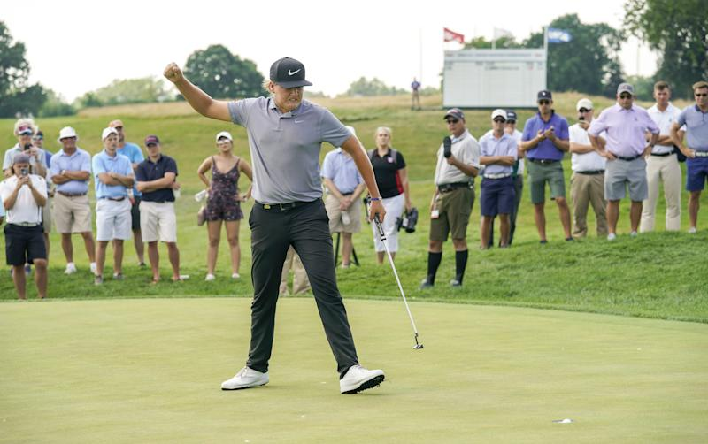 Preston Summerhays, from Utah's first family of golf, wins the U.S. Junior Amateur