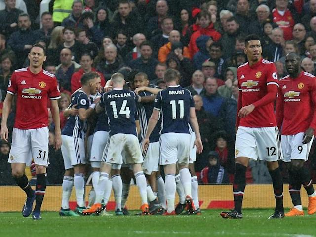 Manchester United 0-1 West Brom LIVE: City win the Premier League - latest reaction from Old Trafford