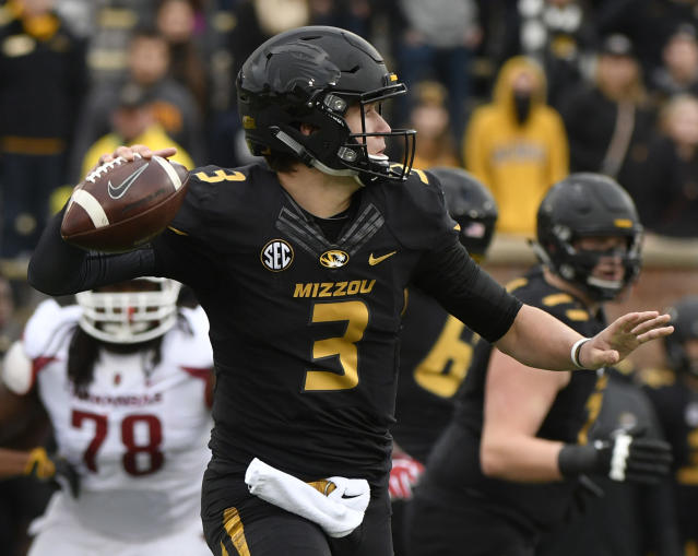 Drew Lock should improve in 2017. (Getty)