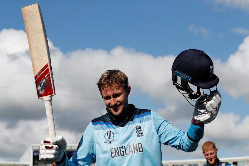 Joe Root scored an unbeaten century as England beat the West Indies by eight wickets in the World Cup