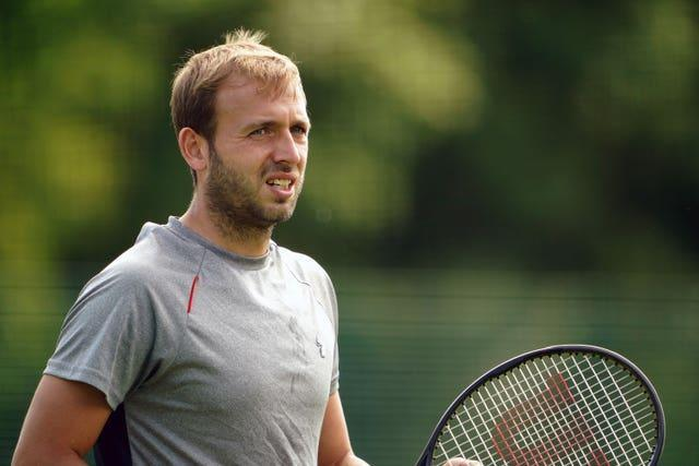 British number one Dan Evans is among the field in Nottingham
