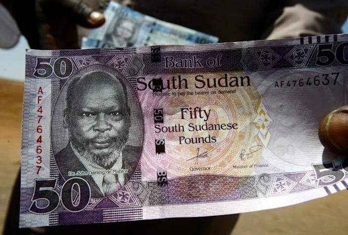 Currency slide: The Sudanese pound