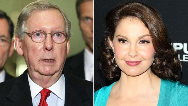 Was McConnell's Senate Staff Digging Up Dirt on Ashley Judd?