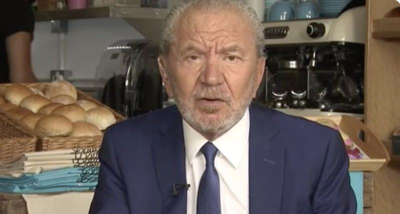 Alan Sugar has come under fire over his comments about people working from home (Photo: ITV)