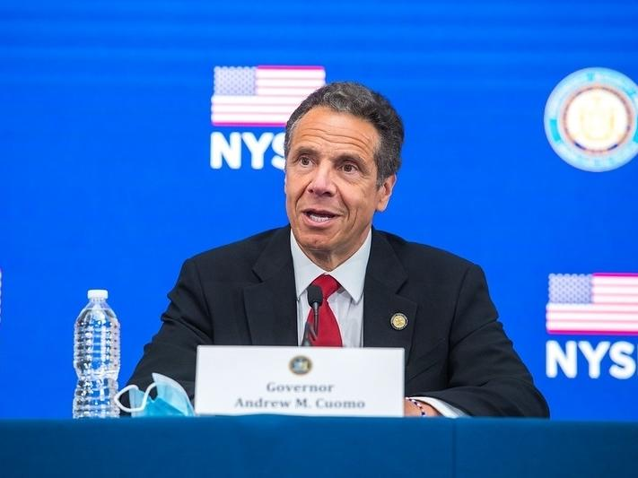 """""""We, since we've reopened, the number has continued to go down,"""" Cuomo said Friday. """"Believe it or not."""""""