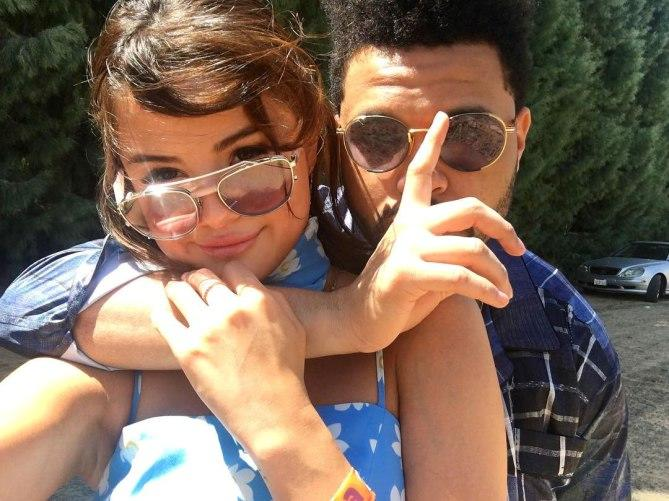 """<p>There's no caption needed for <a rel=""""nofollow"""" href=""""https://www.instagram.com/p/BS7VkPTg0-s/?taken-by=selenagomez"""">the singer's shot with her new boyfriend</a>.<br /></p>"""