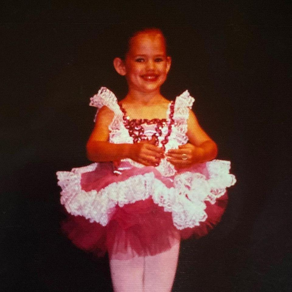 "<p>Garner — who is known for her #TuTuTuesday posts on Instagram — <a href=""https://www.instagram.com/p/B4fgmJkDdMd/"" rel=""nofollow noopener"" target=""_blank"" data-ylk=""slk:posted her own throwback"" class=""link rapid-noclick-resp"">posted her own throwback</a> to celebrate. In the photo, Garner wears a fluffy tutu and smiles for the camera. </p> <p>""Happy <a href=""https://www.instagram.com/explore/tags/tututuesday/"" rel=""nofollow noopener"" target=""_blank"" data-ylk=""slk:#TuTuTuesday"" class=""link rapid-noclick-resp"">#TuTuTuesday</a> from me as a tiny dancer 👶🏻,"" she captioned the photo. ""Same ears, same chin, same turnout 😂🙅🏻‍♀️.""</p>"