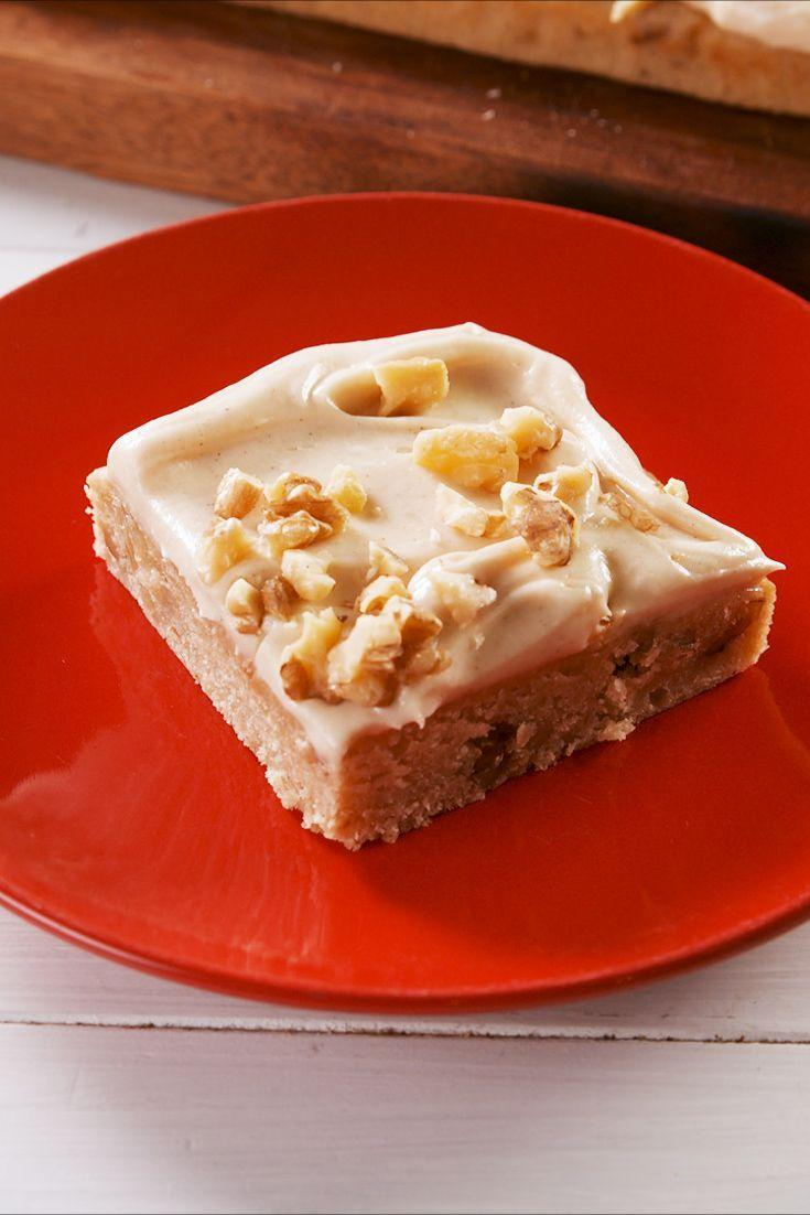 """<p>A little healthier than your average cake but still sooo delicious!</p><p>Get the recipe from <a href=""""https://www.delish.com/cooking/recipe-ideas/a28143897/easy-applesauce-cake-recipe/"""" rel=""""nofollow noopener"""" target=""""_blank"""" data-ylk=""""slk:Delish"""" class=""""link rapid-noclick-resp"""">Delish</a>.</p>"""