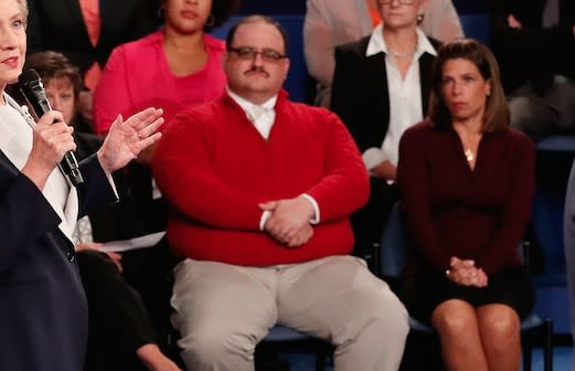 The internet is LOVING this dude from last night's debate