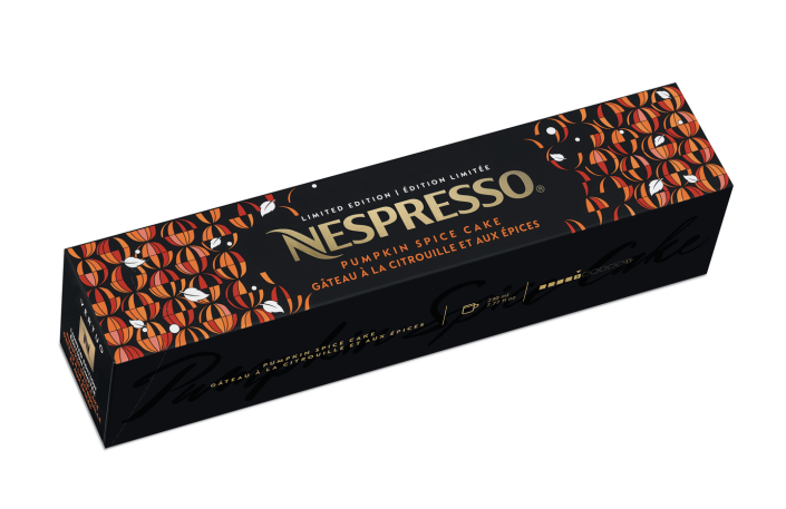 <p>This flavor is back and if you want to give it a try you'll have to be quick: Last year, Pumpkin Spice Cake broke sales records of the highest number of Vertuo capsules sold in one single day!</p>