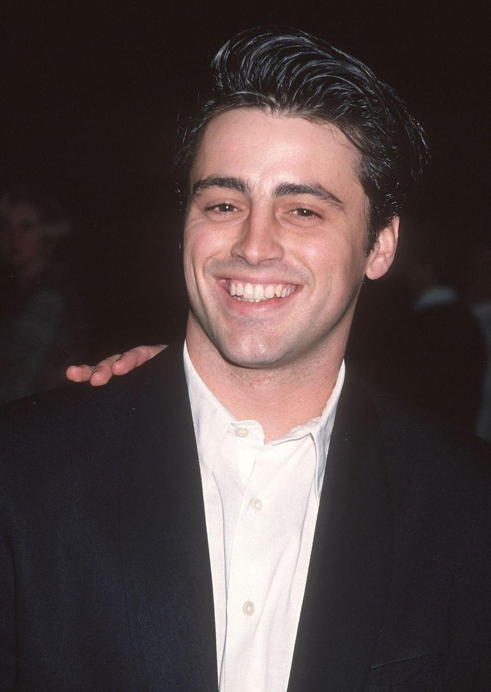 """<p>In <em>Friends, </em>Matt played the part of Joey Tribbiani, an actor struggling to break into the business—which is something Matt had experience with before landing <em>Friends.</em> """"You know when you think, 'Alright, I got a little money in the bank. I can hold out until the next gig,'"""" Matt <a href=""""https://www.youtube.com/watch?v=NcrLffEZD8E#action"""" rel=""""nofollow noopener"""" target=""""_blank"""" data-ylk=""""slk:said on Conan"""" class=""""link rapid-noclick-resp"""">said on <em>Conan</em></a>. """"I think I was down to $11...now, that's holding out too long.""""</p>"""