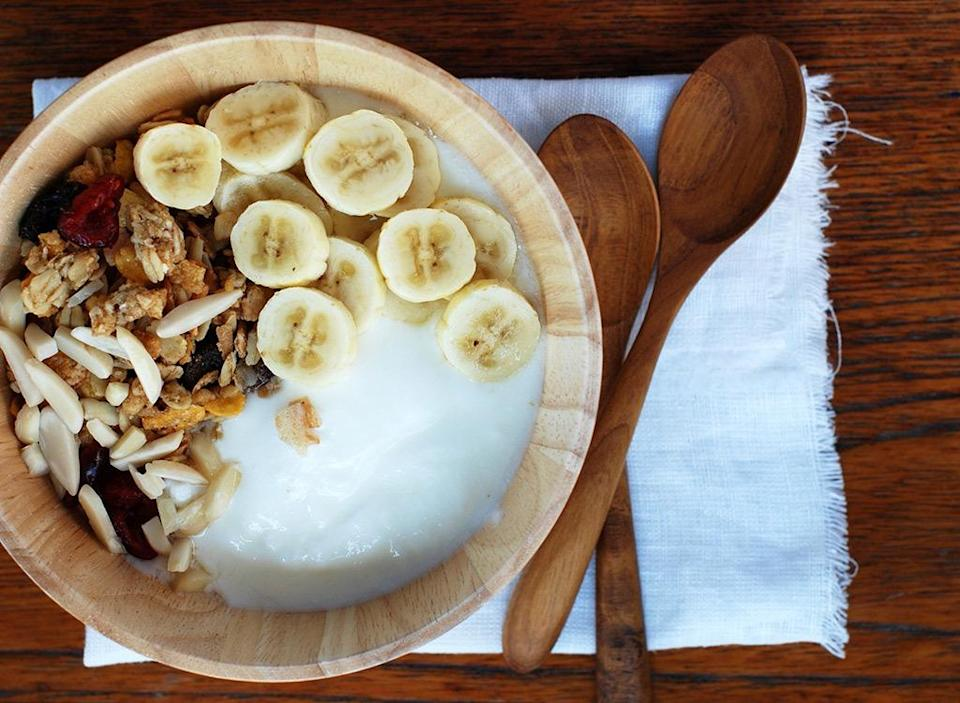Best worst foods sleep yogurt and granola