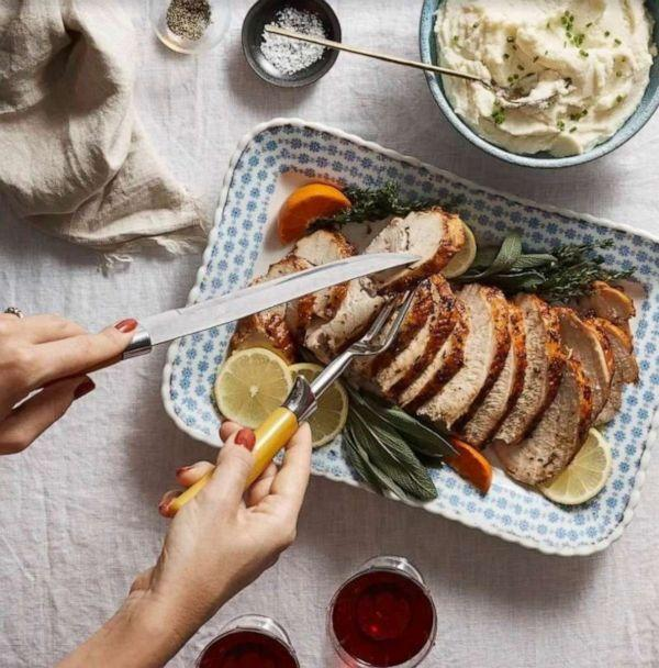 PHOTO: Blue Apron's first-ever Thanksgiving meal kit option. (Blue Apron)
