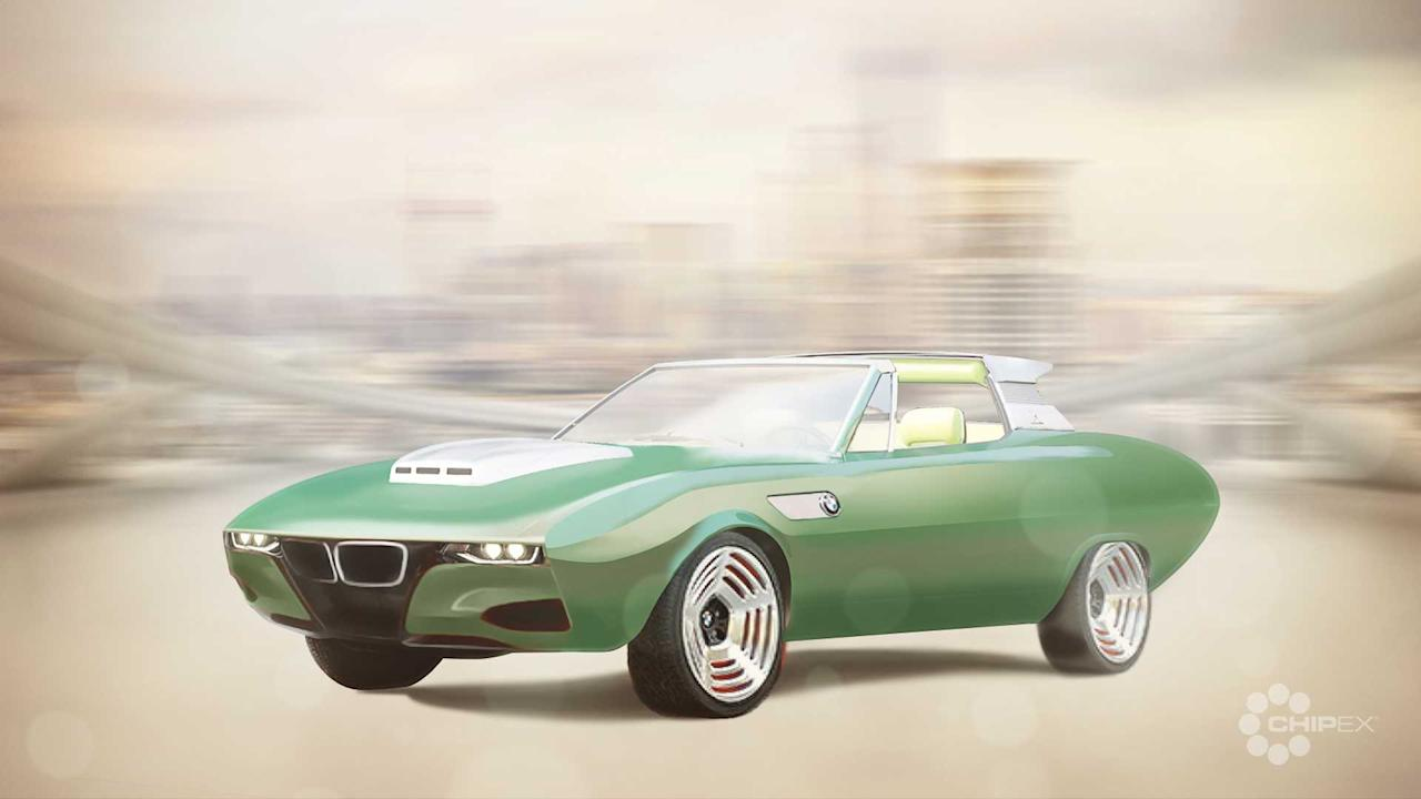 """<p>Like the Lamborghini Marzal, the 1969BMW 2800 Spicup has a body fromMarcello Gandini's time at Bertone. The name was a combination of spider and coupe as a nod to the removable roof panel that allowed for the conversion between the hardtop and open-air motoring. The front of the vehicle had very similar styling to whatGandini used on the 1967 concept that became the <a href=""""https://www.motor1.com/tag/alfa-romeo-montreal/"""" target=""""_self"""">Alfa Romeo Montreal</a>, but he reworked the shape for BMW by incorporating a shaker bonnet. At the back, there was an angular boot behind the rear glass.</p> <p>The modern take incorporates a nose similar to the <a href=""""/bmw/i8/"""" target=""""_self"""">i8</a> and modern LED headlights. The bulge in the bonnet is a little bigger, too. Otherwise, the design here looks a lot like the original.</p> <h2>The latest from BMW:</h2><br><a href=""""https://uk.motor1.com/news/349218/bmw-i8-safety-car-formula-e/"""">BMW introduces new i8 Roadster Safety Car for Formula E</a><br><a href=""""https://uk.motor1.com/news/347189/bmw-i4-ev-spy-photos/"""">BMW i4 spied looking sleek and showing off its cabin</a><br>"""