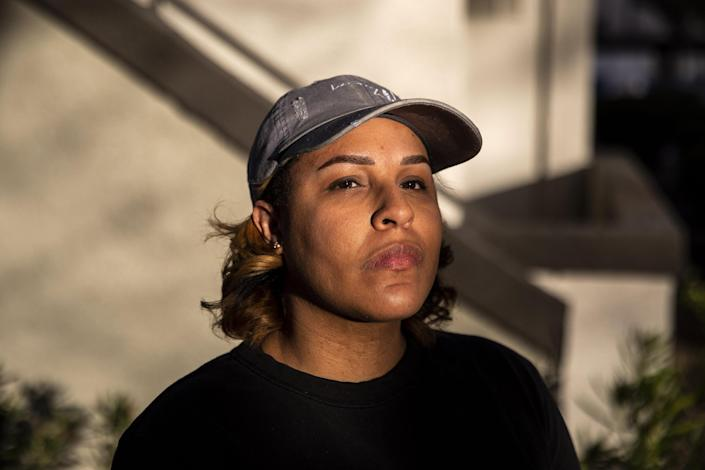 Curley is one of several Google employees that reported problems with race discrimination within the company. (Joe Buglewicz / for NBC News)