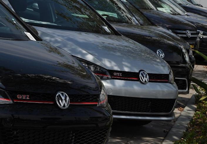Volkswagen has admitted to installing defeat device technology on 11 million cars, including 600,000 in the United States (AFP Photo/Mark Ralston)