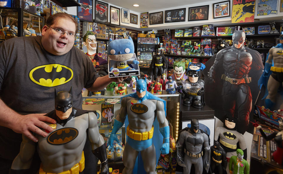 <p>Brad Ladner from Georgia, USA, owns this award, with 8226 different items. (PA) </p>