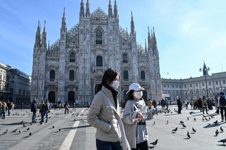 Fears over the virus have affected events in Milan, the biggest city in the worst-hit Lombardy region