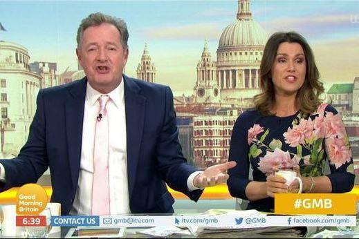 Piers Morgan said he was 'bored' of the Sussexes(Good Morning Britain/ITV)