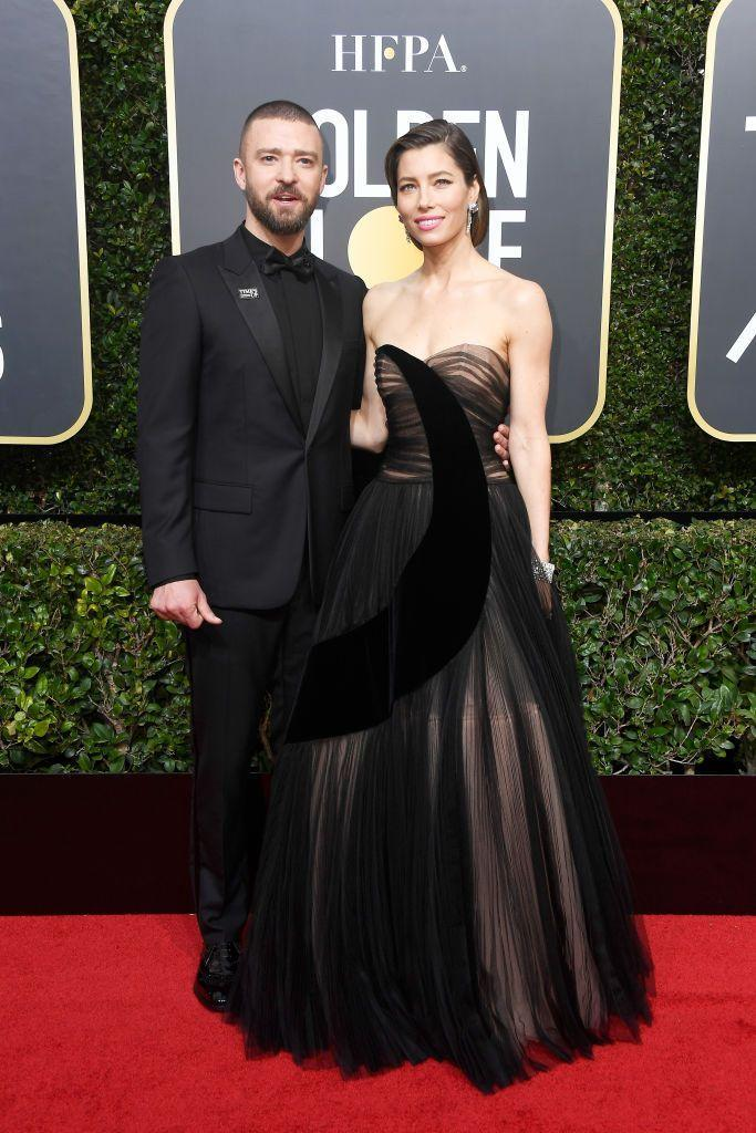 """<p><strong>Children's names: </strong></p><p>Silas Randall Timberlake </p><p>The couple reportedly welcomed another baby this summer, <a href=""""https://www.elle.com/uk/life-and-culture/a33363340/justin-timberlake-jessica-biel-second-baby/"""" rel=""""nofollow noopener"""" target=""""_blank"""" data-ylk=""""slk:though the name has not yet been announced."""" class=""""link rapid-noclick-resp"""">though the name has not yet been announced.</a></p>"""