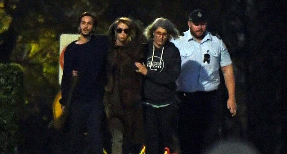 Hannah Quinn shown leaving Silverwater Correctional Centre in August 2018. Source: AAP
