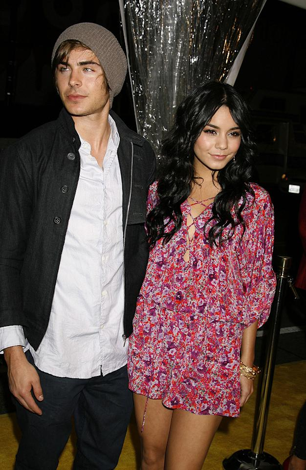 "<a href=""http://movies.yahoo.com/movie/contributor/1808543881"">Zac Efron</a> and <a href=""http://movies.yahoo.com/movie/contributor/1808436979"">Vanessa Hudgens</a> at the Los Angeles premiere of <a href=""http://movies.yahoo.com/movie/1808406490/info"">Watchmen</a> - 03/02/2009"