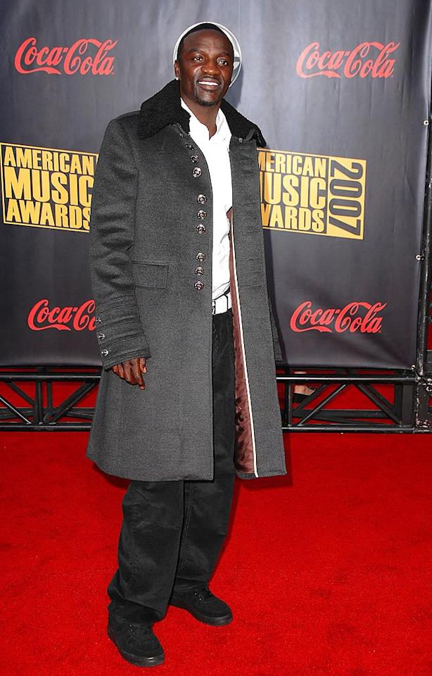 """8. Akon. The hip-hop singer, best known for the single """"Smack That,"""" found himself in hot water in 2007. Akon drew criticism after he simulated sex with a 14-year-old girl at a concert in Trinidad, then faced charges several months later after a fan said she suffered a concussion when the performer tossed a teen off the stage into the crowd. Steve Granitz/<a href=""""http://www.wireimage.com"""" target=""""new"""">WireImage.com</a> - November 18, 2007"""